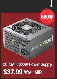 CORSAIR 600W Power Supply