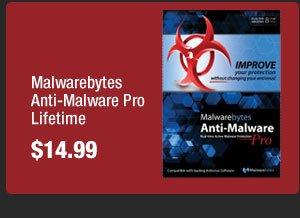 Malwarebytes Anti-Malware Pro Lifetime