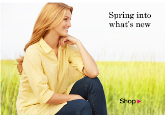Spring into what's new