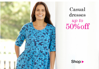Casual dresses up to 50% OFF