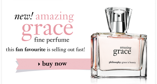 new! amazing grace fine perfume this fan favourite is selling out fast!