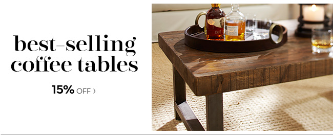 best-selling coffee tables