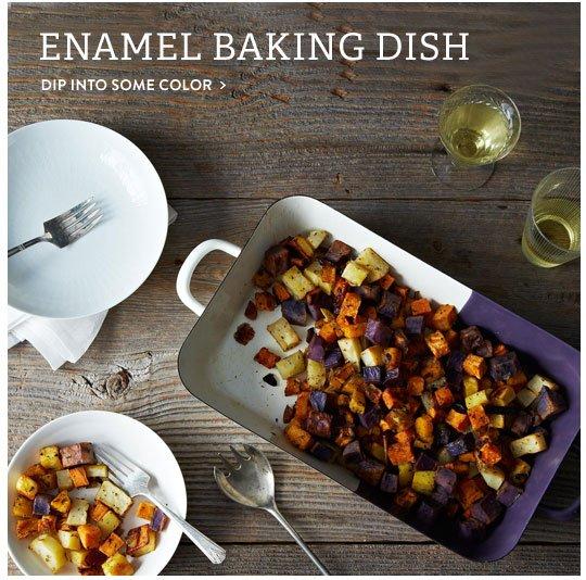 Enamel Baking Dish