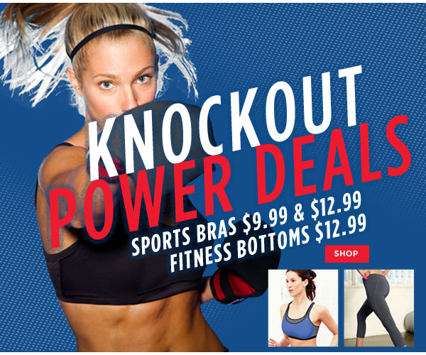SHOP Knockout Power Deals!