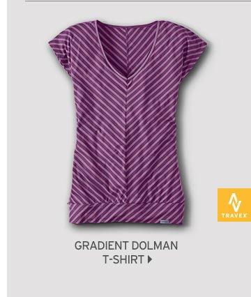 Shop Women's Gradient Dolman T-Shirt