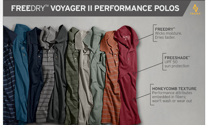 FREEDRY Voyager II Performance Polo