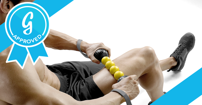 When muscles are sore after a tough gym session, this tool does the trick for hard-to-target places like shoulders and feet.