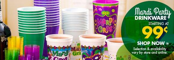 Mardi Party Drinkware