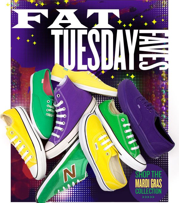 Fat Tuesday Faves. Shop the collection.