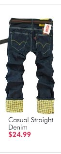 Casual Straight Denim $24.99