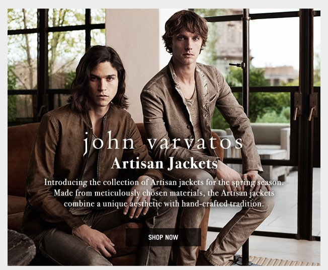 Introducing The Artisan Jackets For Spring – Shop Now