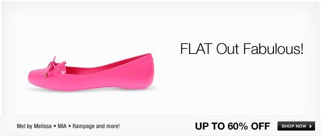 FLAT out fabulous!