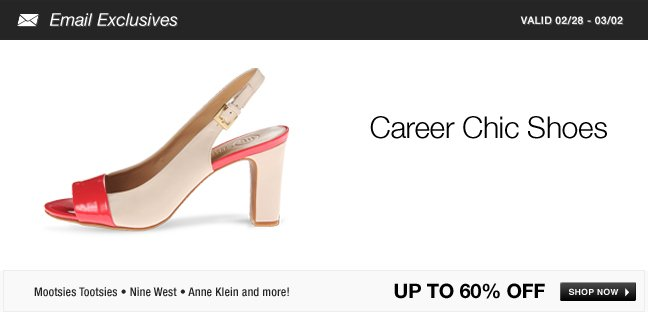 Career Chic Shoes