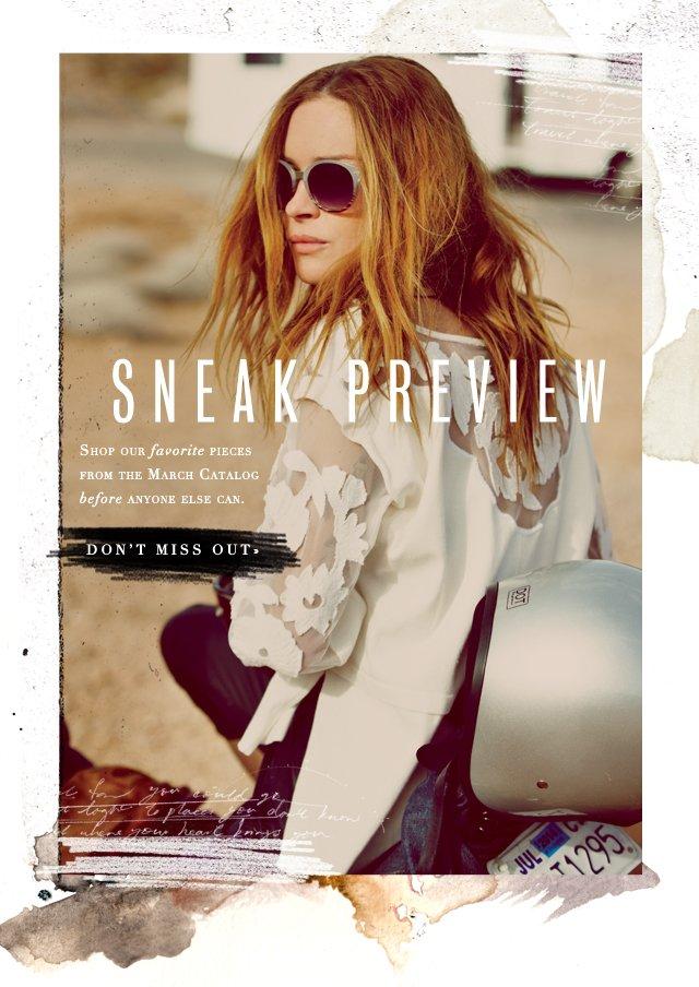 March Catalog Sneak Preview