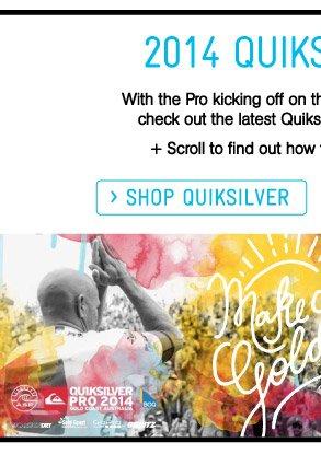 Shop Quiksilver