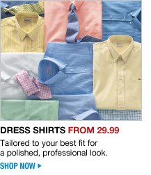 dress shirts from 29.99 - shop now