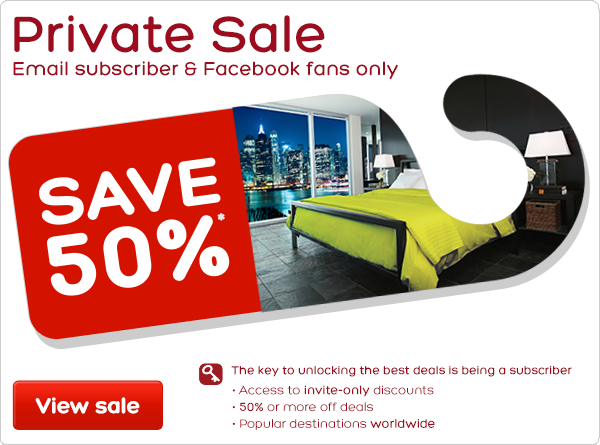 Private Sale - Email subscriber & Facebook fans only - Save 50%*