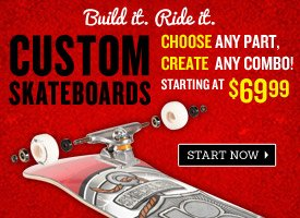 Build Your Own Custom Skateboard