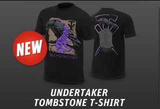 "Undertaker ""Tombstone"" Authentic T"