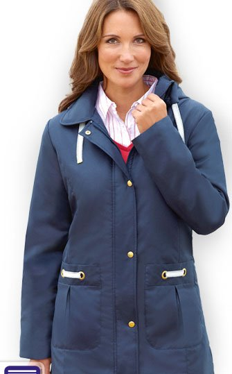 Free Hooded Coat with your next order.