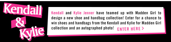 Kendall and Kylie for Madden Girl! Enter to win!