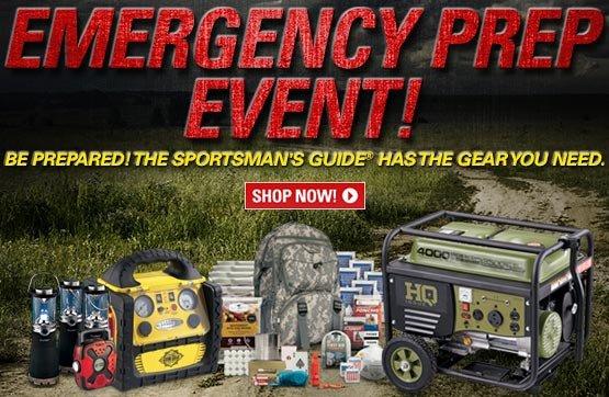 Sportsman's Guide's Emergency Preparedness Event