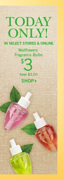 Wallflowers Fragrance Bulbs – $3