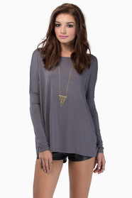 Back To Basics Long Sleeve Top 36