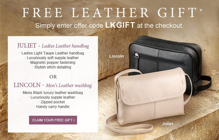 Free leather gift*