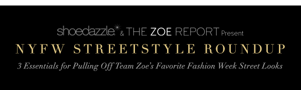 ShoeDazzle and The Zoe Report Present