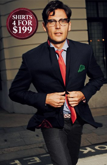 Shirts 4 for $199