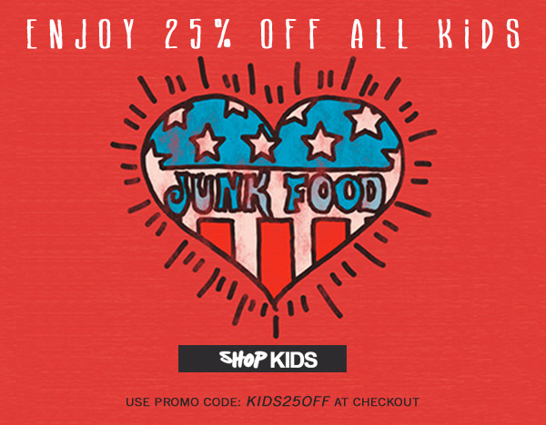 Check out all the boys and girls product. Enjoy 25% off all kids. Code KIDS25OFF.