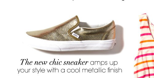 The new chic sneaker