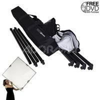 Adorama - Scrim Jim Scrim Kit with Frame, Two Textiles, and Carry Bag