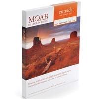 Adorama - Moab Entrada Rag Fine Art, 2-Side Bright White Matte Inkjet Paper, 22.5 mil., 300gsm