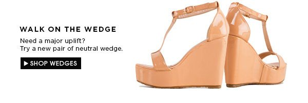 Wedges new arrivals