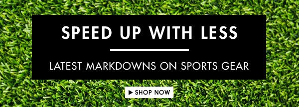 Get up to 70% off sports gear!
