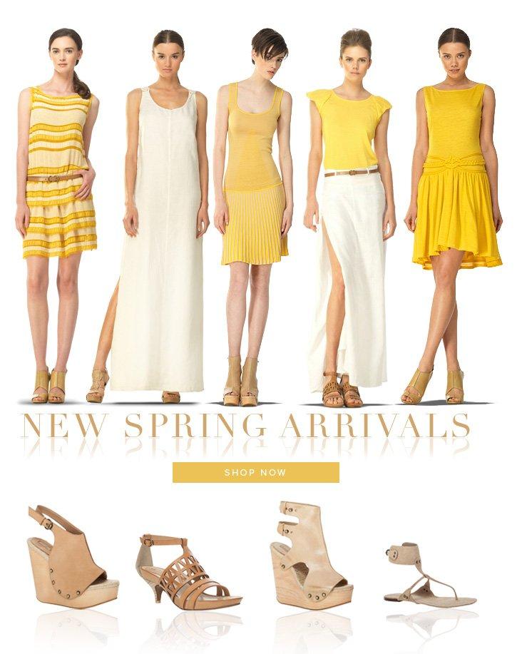 New Spring Arrivals