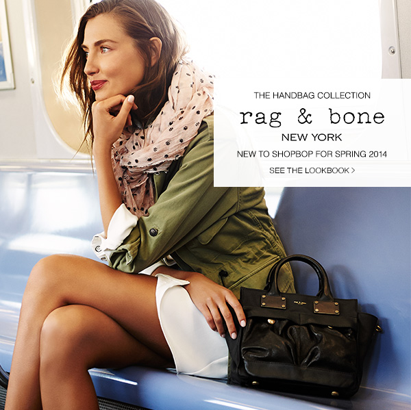 Rag & Bone Handbag Collection: New to Shopbop for Spring 2014. Shop Now!