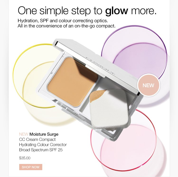 One simple set to glow more.