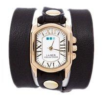 Black Gold Chateau Wrap Watch
