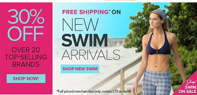 New Swim Arrivals
