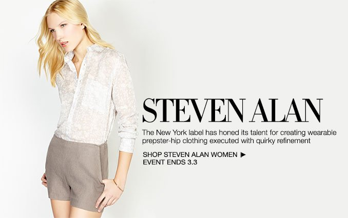 Shop Steven Alan - Ladies