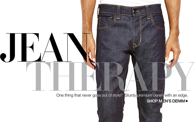 Shop Premium Denim - Men