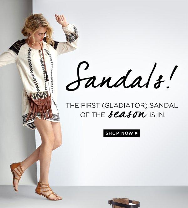Sandals: Shop Now