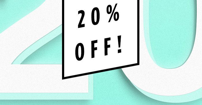 Today Only! 20% OFF on any order, use code:any2
