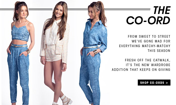 THE CO ORD SHOP NOW