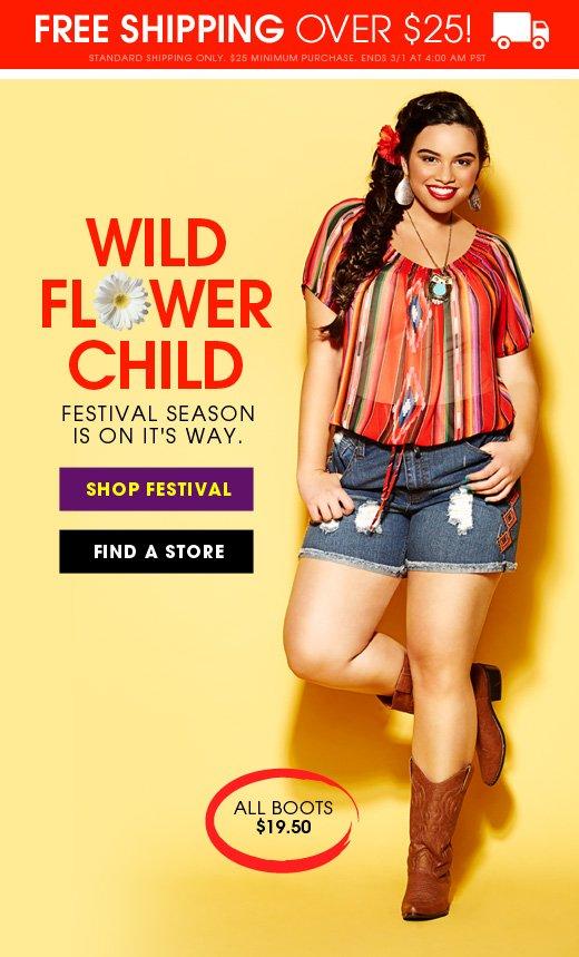 Wild Flower Child