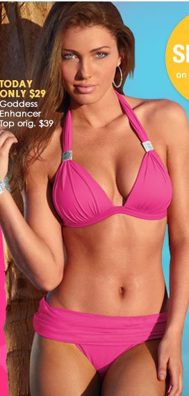 TODAY ONLY - Goddess Enhancer Top - regularly $39, SALE PRICE just $29!