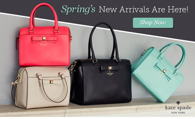 Spring's New Arrivals are Here! Shop Now.
